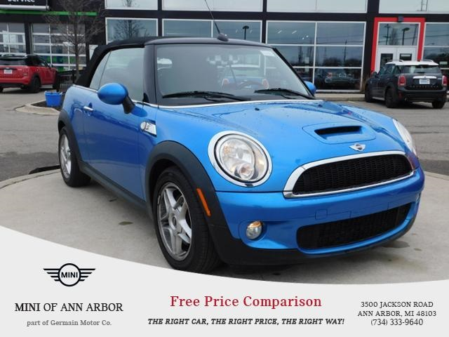 Pre-Owned 2010 MINI Convertible Cooper S
