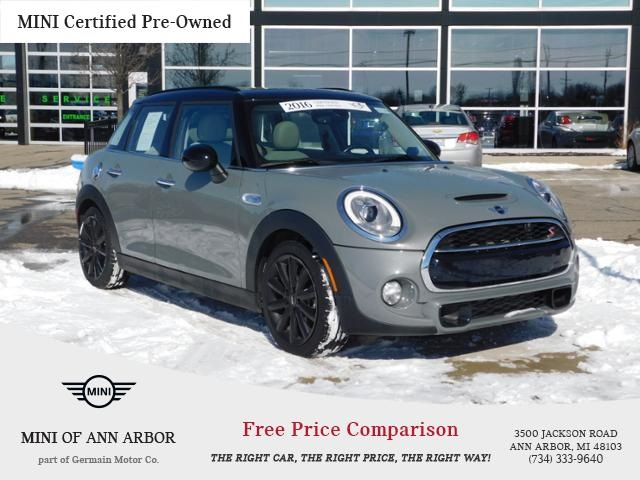 Certified Pre Owned 2016 Mini Hardtop 4 Door Cooper S