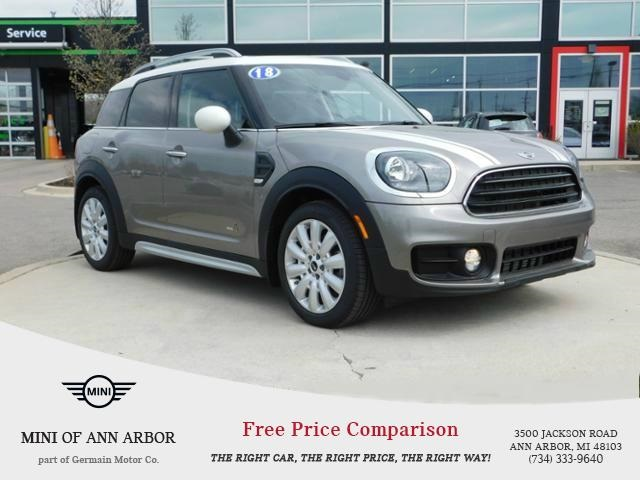 pre owned 2018 mini countryman cooper 4d sport utility in ann arbor