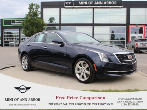 Pre-Owned 2016 Cadillac ATS 3.6L Luxury