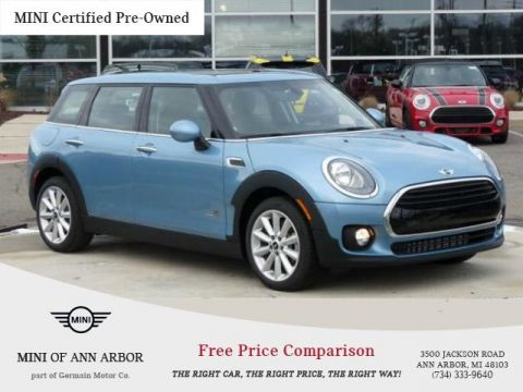 Certified Pre-Owned 2017 MINI Cooper Clubman All4