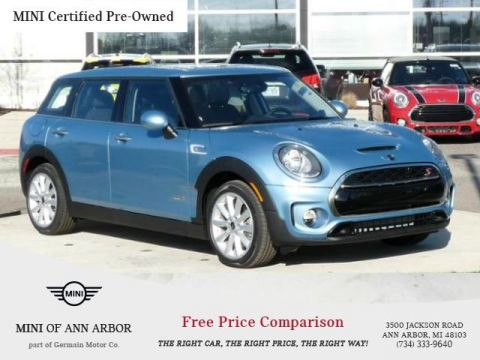 Certified Pre-Owned 2017 MINI Cooper S Clubman All4