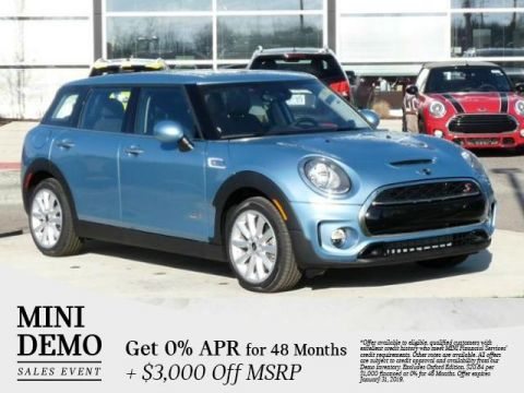 Certified Pre-Owned 2017 MINI Clubman Cooper S